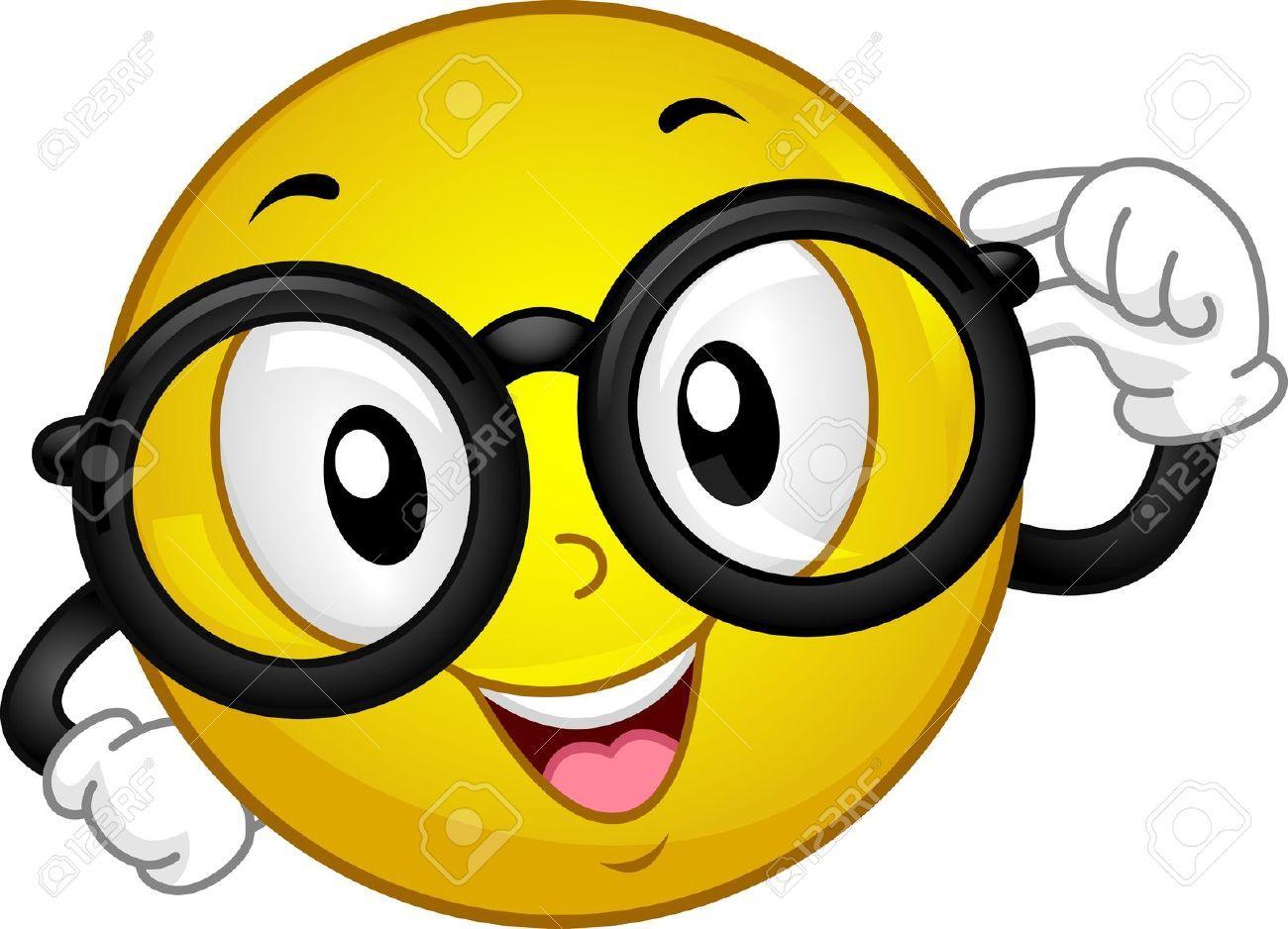 illustration d un port de lunettes smiley banque d images et rh pinterest com Animated Smiley Face Clip Art Eye Glasses Clip Art