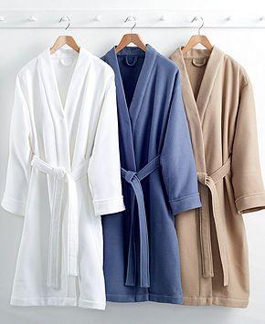 Hotel Collection Waffle Bath Robe Bath Robes Bed Bath - Bathroom robes