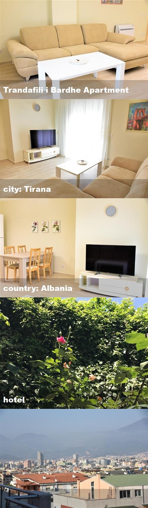 Trandafili I Bardhe Apartment City Tirana Country Albania Hotel Tirana Albania Hotel