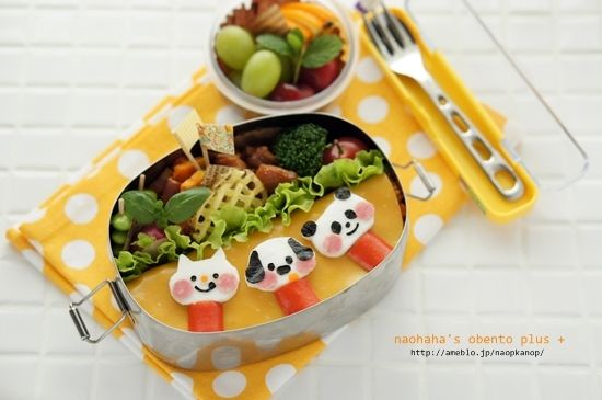 「DECOLEりんごちゃんワッペンのお弁当♪」の画像|naohaha's obent… |Ameba (アメーバ)
