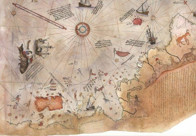 Found 16th century map challenges current knowledge of history found 16th century map challenges current knowledge of history video gumiabroncs Image collections