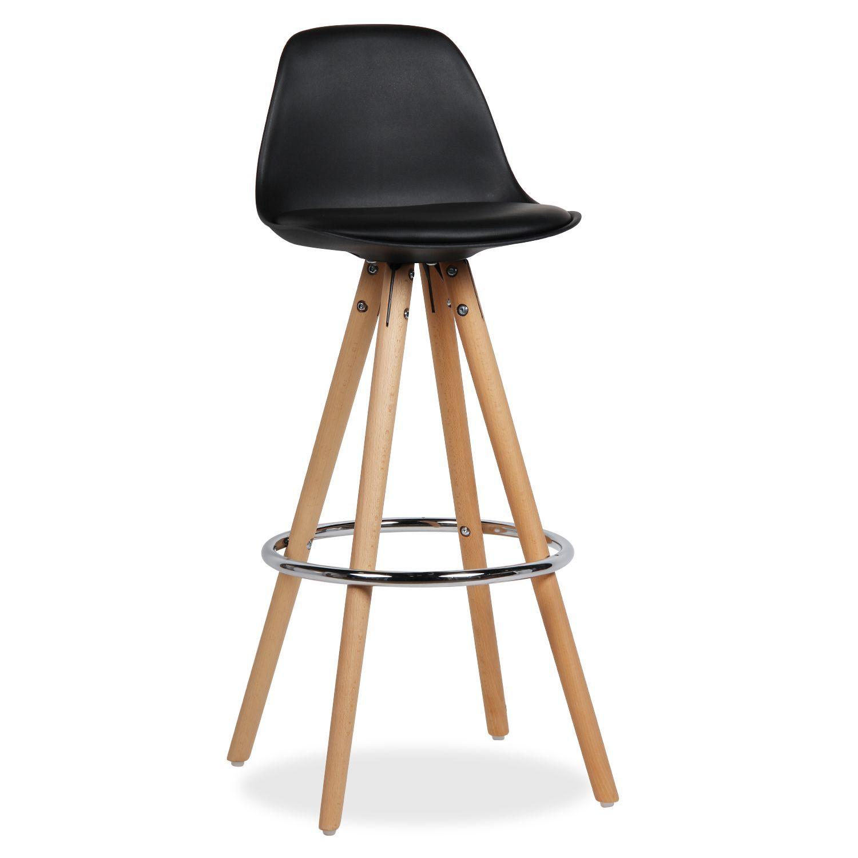 Taburete wood whing pu taburetes sillas de dise o for Superstudio arredamento