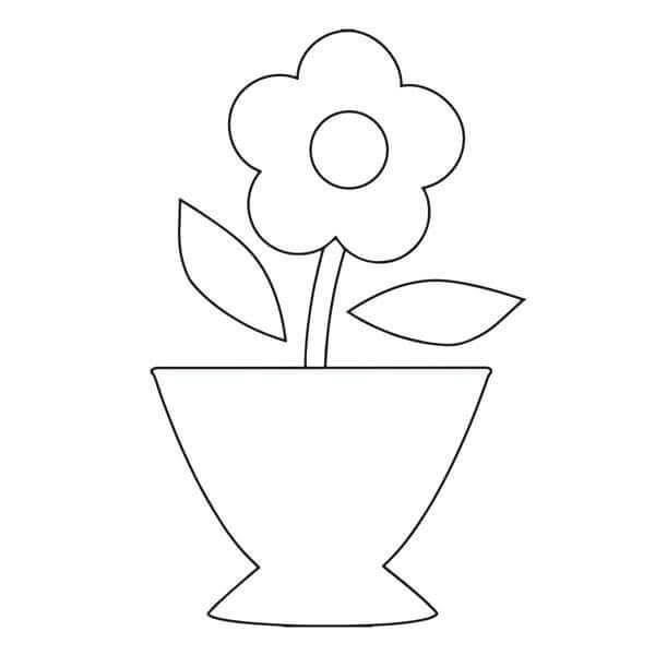 Открытка на 8 марта ваза с цветами с шаблонами