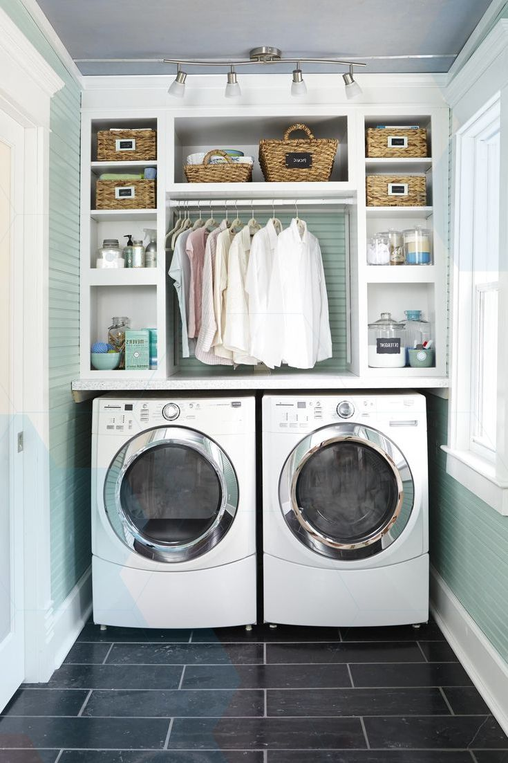 11 most popular laundry room design ideas for 2019 on extraordinary small laundry room design and decorating ideas modest laundry space id=91815