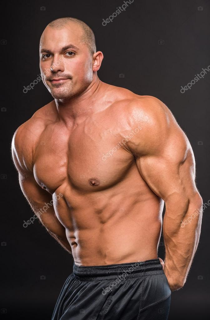 Download Strong Man Stock Image In 2021 Guy Pictures Man Bodybuilding