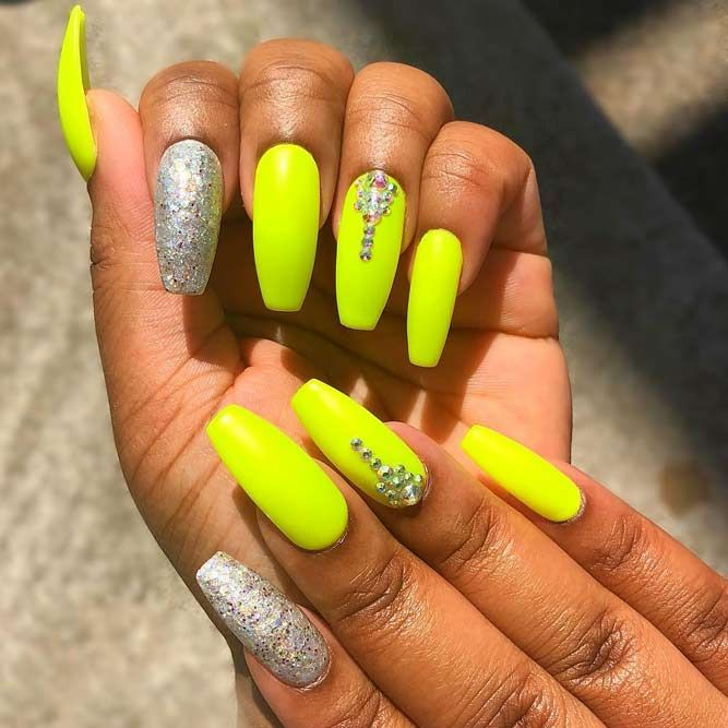 Sunny Shades Of Yellow Nails You Can Try With Images Nails