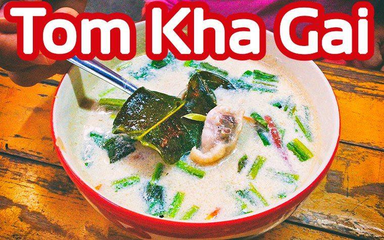 Tom Kha Gai Suppe Street Food Bangkok