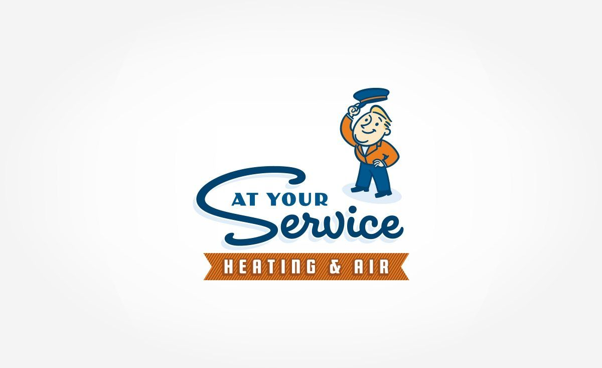 At Your Service Heating Air Kickcharge Creative Rotulacion