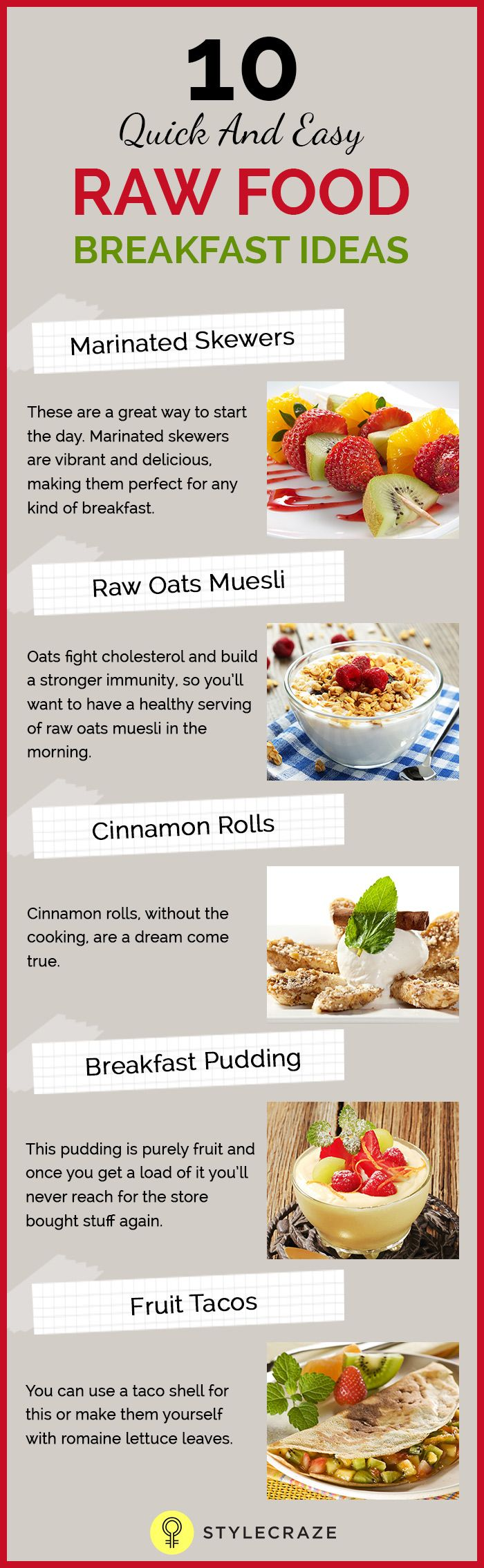 10 quick and easy raw food breakfast ideas easy food and healthy on that note this post talks about the ten raw food breakfast ideas that are forumfinder Images