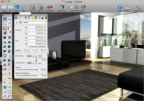 The Best Interior Design Computer Programs Interiors Professional Screenshots With Cool Idea Of Living Room Decoration Moodern Tv And Grey Wall