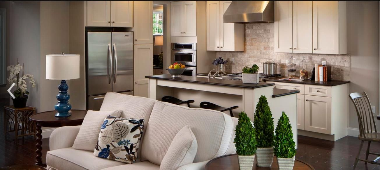open plan with narrow island open concept kitchen living room living room and kitchen design on kitchen remodel with island open concept id=93397