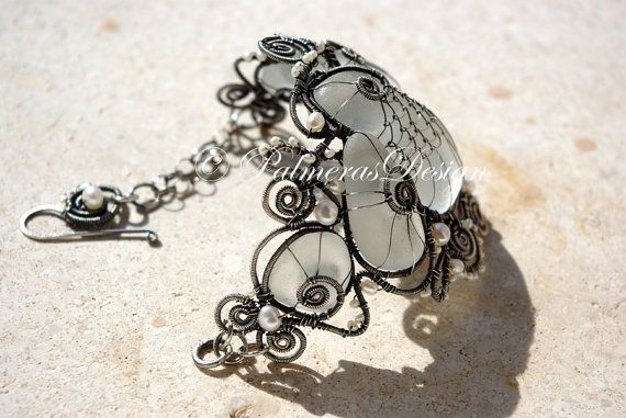 15% OFF. SALE. MERMAIDs DREAM wire wrapped by PalmerasDesign