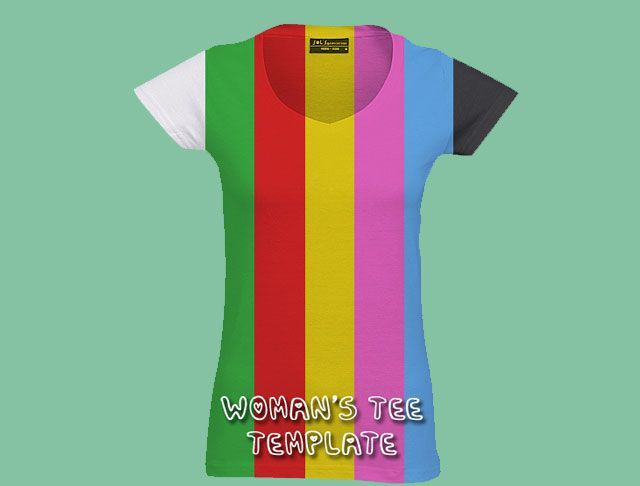 Free Download  HttpWwwTShirtTemplateComWomenTShirt