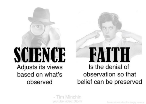 Faith Science Quotes My Style Atheism Science Vs Religion