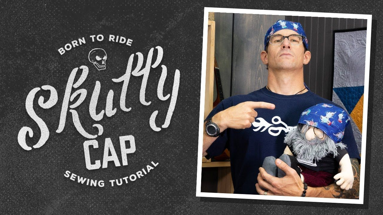 Make A Scrub Cap Or Skull Cap With Rob Appell Of Man Sewing