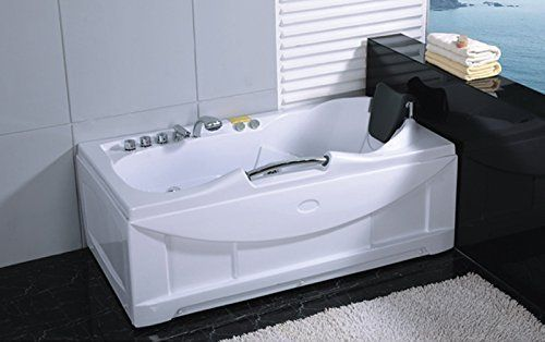 One 1 Person Whirlpool Massage Hydrotherapy White Bathtub Https Www Dp B00p6ywiau Ref Cm Sw R Whirlpool Hot Tub Jetted Bath Tubs Indoor Hot Tub
