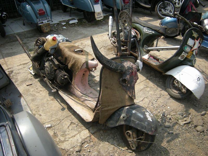Kumpulan Gambar Motor Vespa Gembel Scooters Pinterest Vespa