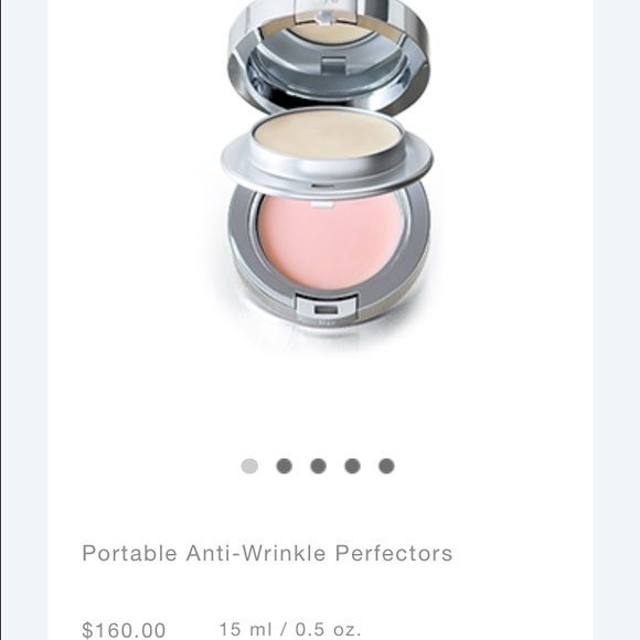 LA PRAIRIE Auth La Prairie anti-Aging eye & lip perfection. Anti-wrinkles. The perfect lip & eye cream on the go comes with nice zippered case. Features an easy to use double sided bounce mirror compact. Very nice! Just LOVE this skin care line! No pp no trades. Swatched once with  clean brush not used to put on. Only to see texture. Clean like new condition. Ship asap. Bundle discount available. La prairie  Makeup