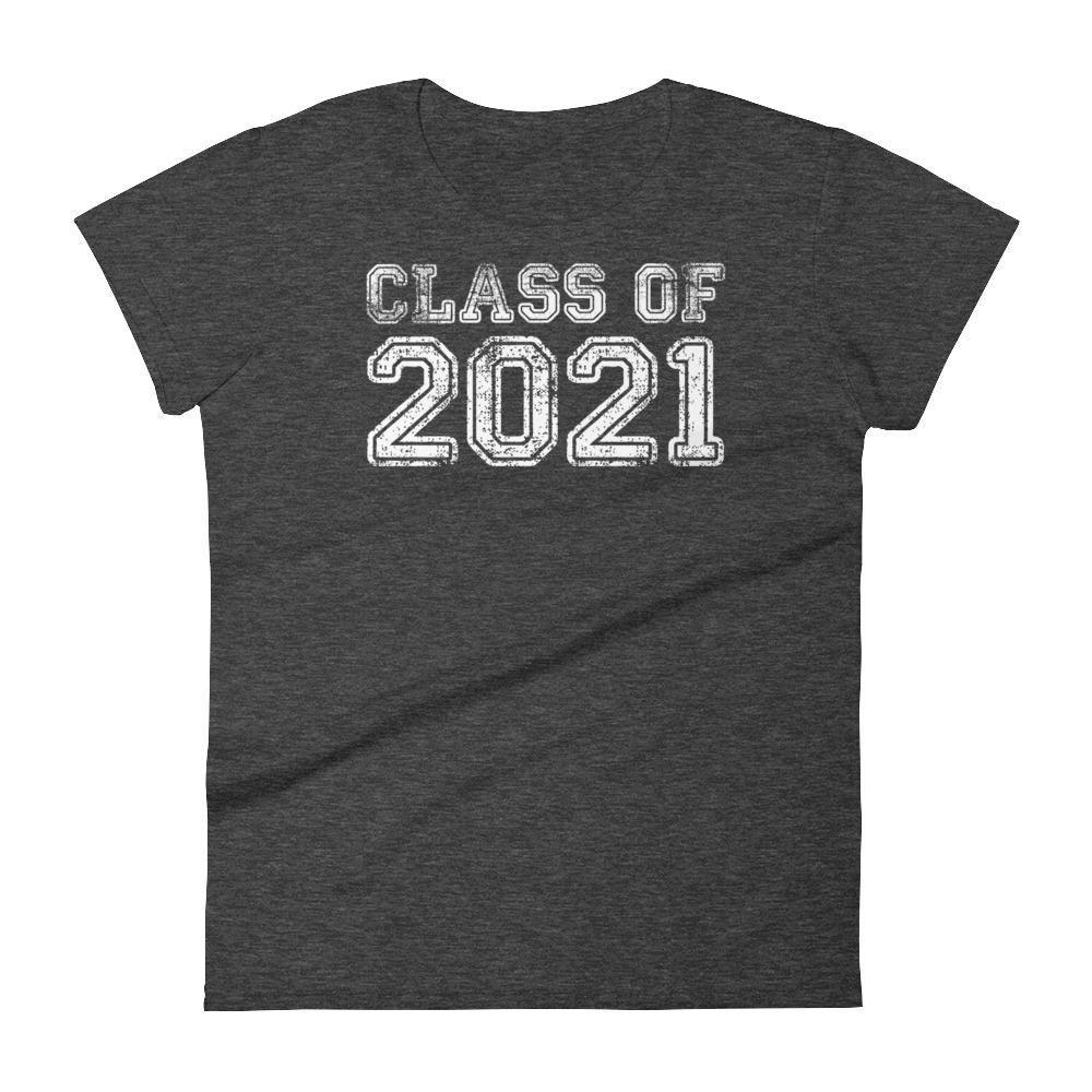 Women's Class of 2021 t-shirt - Back to school gift
