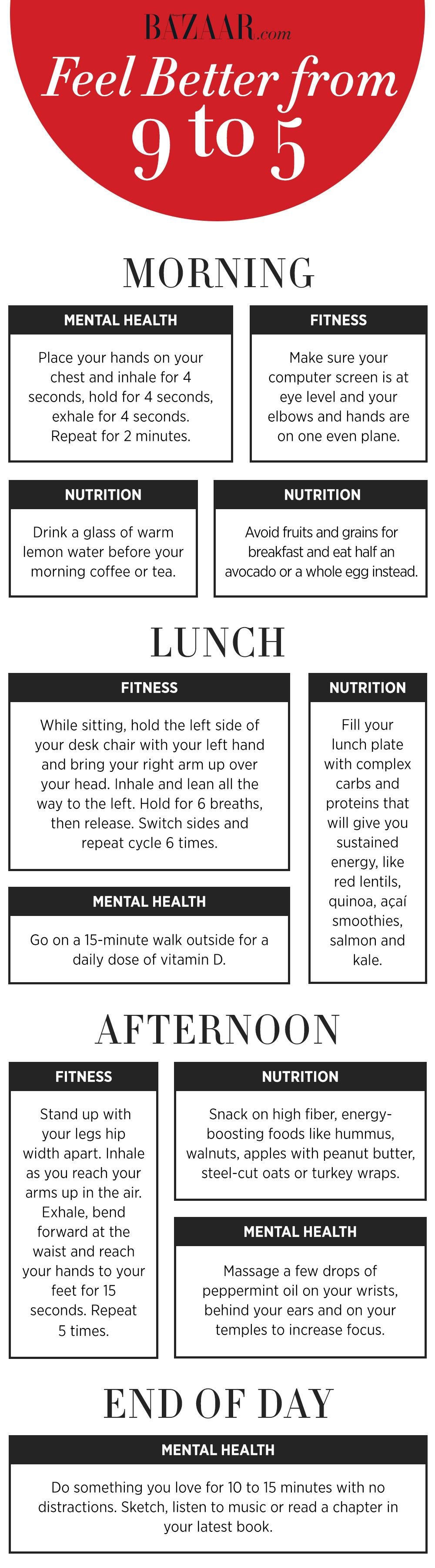 how to get more energy late in the day