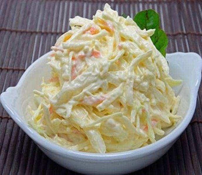 Como Fazer Repolho Cremoso Culinaria Saladas Repolho Receita