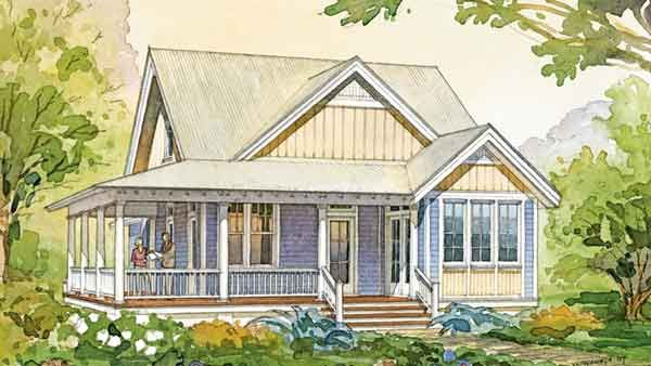 Cove Cottage Benjamin Showalter Southern Living House Plans Cottage Floor Plans Cottage House Plans Cottage Plan