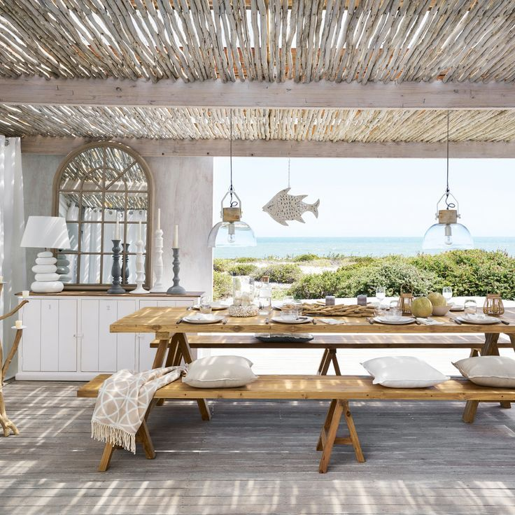 15 Fantastic Beach Style Designs For Your Outdoor Areas In 2020