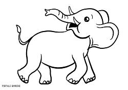 Disegni Di Elefanti Da Stampare E Colorare Gratis Portale Bambini Coloringpages Coloring Coloringinspiration Elephan Disegno Di Elefante Disegni Stampe