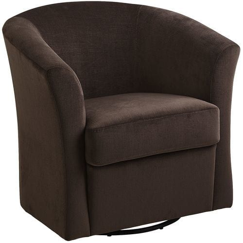 Isaac Java Brown Swivel Chair Pier 1 Imports With