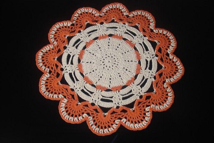Tapetes Crochê: Tapete Redondo em Crochê com Barbante
