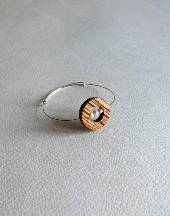 DOTS wooden bracelet contemporary modern jewelry natural pearl silver bracelet .... -  DOTS wooden bracelet contemporary modern jewelry natural pearl silver bracelet … – DOTS wooden  - #bracelet #contemporary #diyjewelrycratfs #diymodernjewelry #DOTS #highjewelry #Jewelry #modern #natural #pearl #silver #wooden
