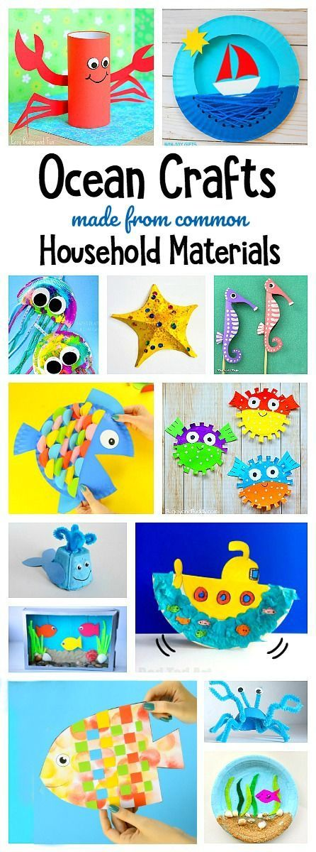 ahoy mates ready to make some gorgeous ocean crafts so many fun art projects - Fun Kids Pictures
