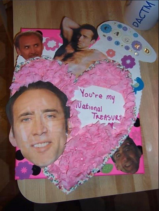 I Wish Someone Loved Me Enough To Make Me A Creepy Nic Cage Card
