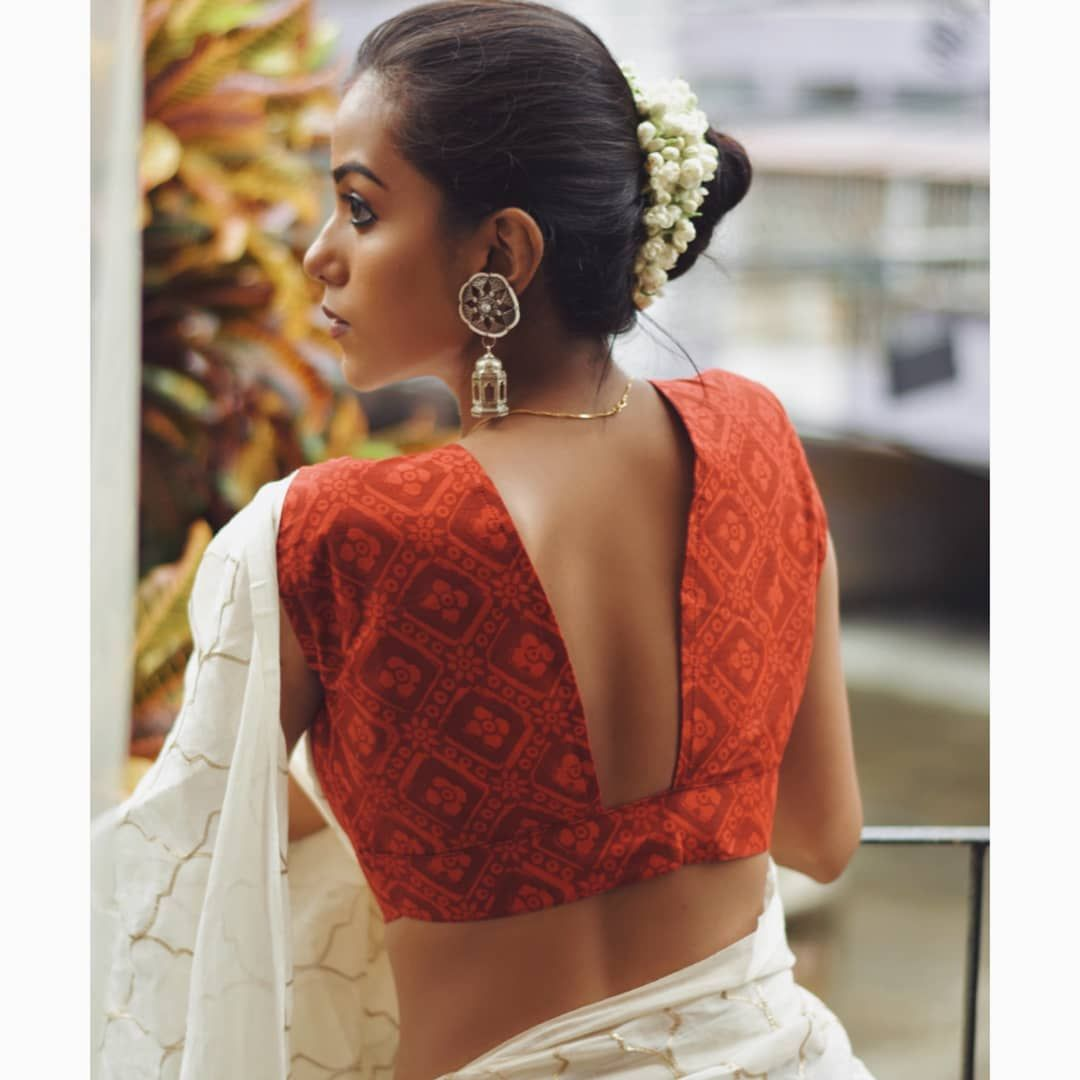Stylish Handloom Blouse To Mix N Match With Simple