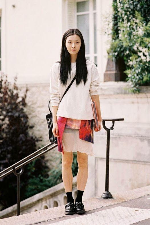 Vanessa Jackman: Paris Fashion Week SS 2014....Sung Hee Kim