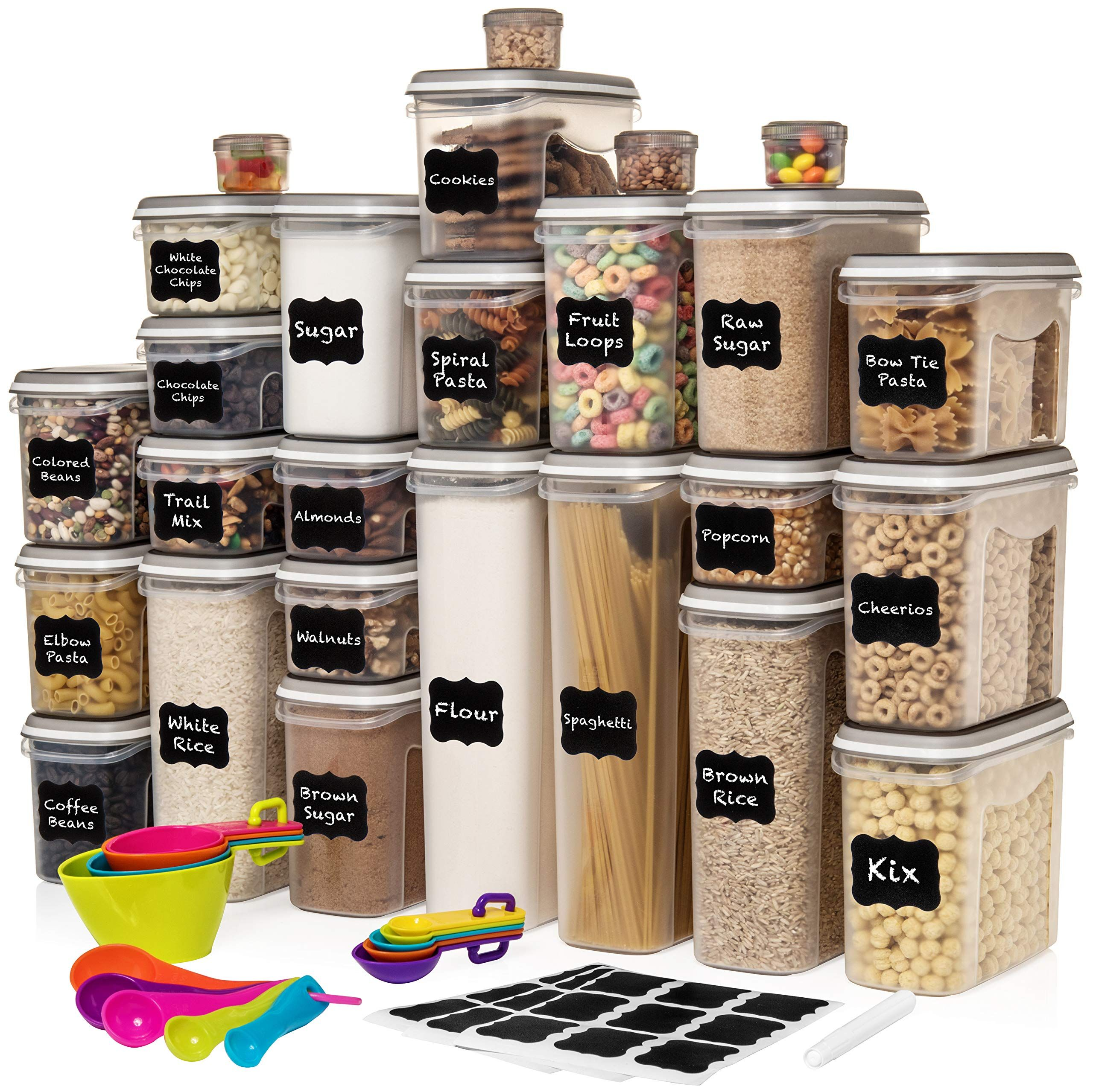Largest Set Of 52 Pc Food Storag Airtight Food Storage Airtight