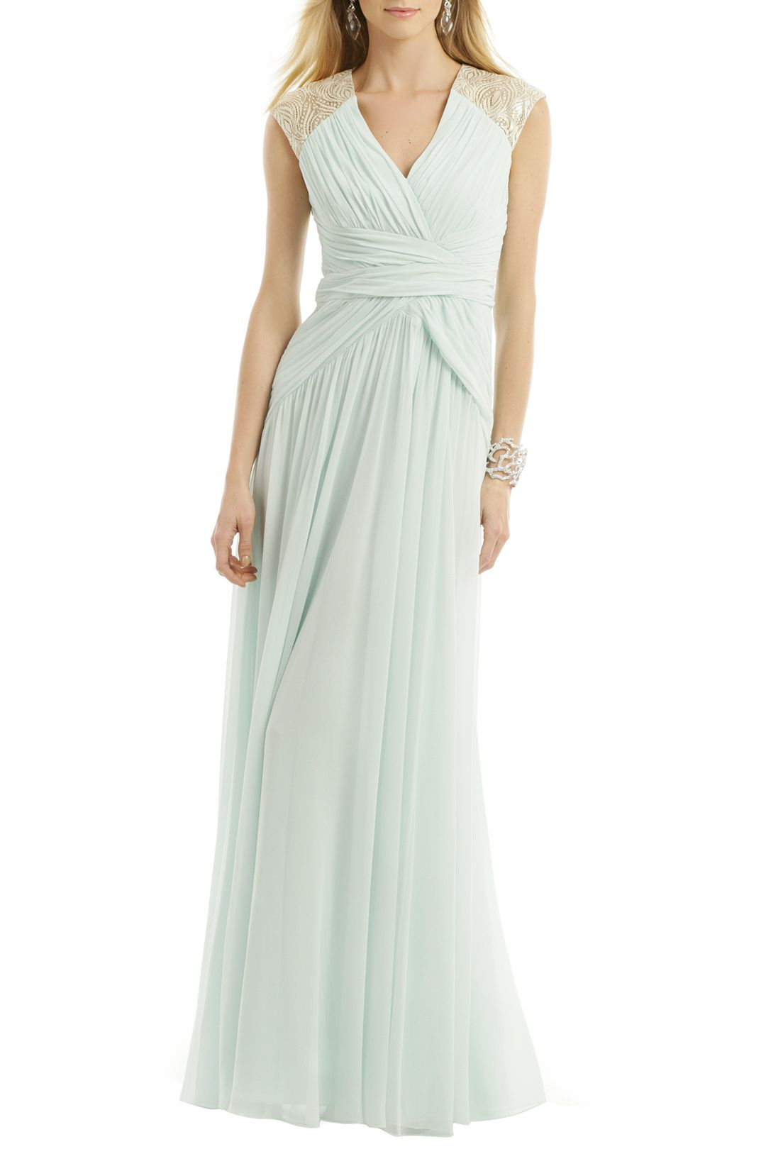 Rent mint dream gown by badgley mischka for only at rent the