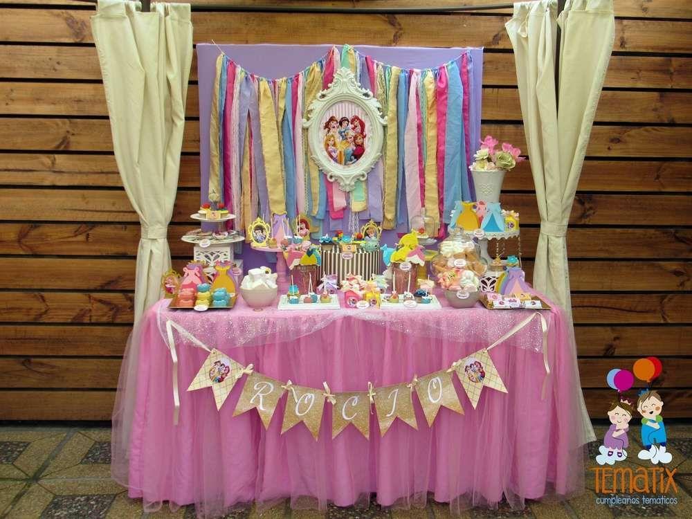 Disney Princess Birthday Party Ideas Princess Birthday Party Princess Theme Birthday Party Princess Birthday