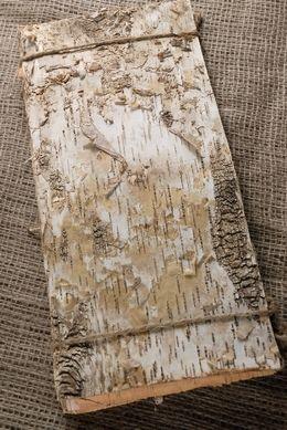 6 Birch Bark Sheets 15in