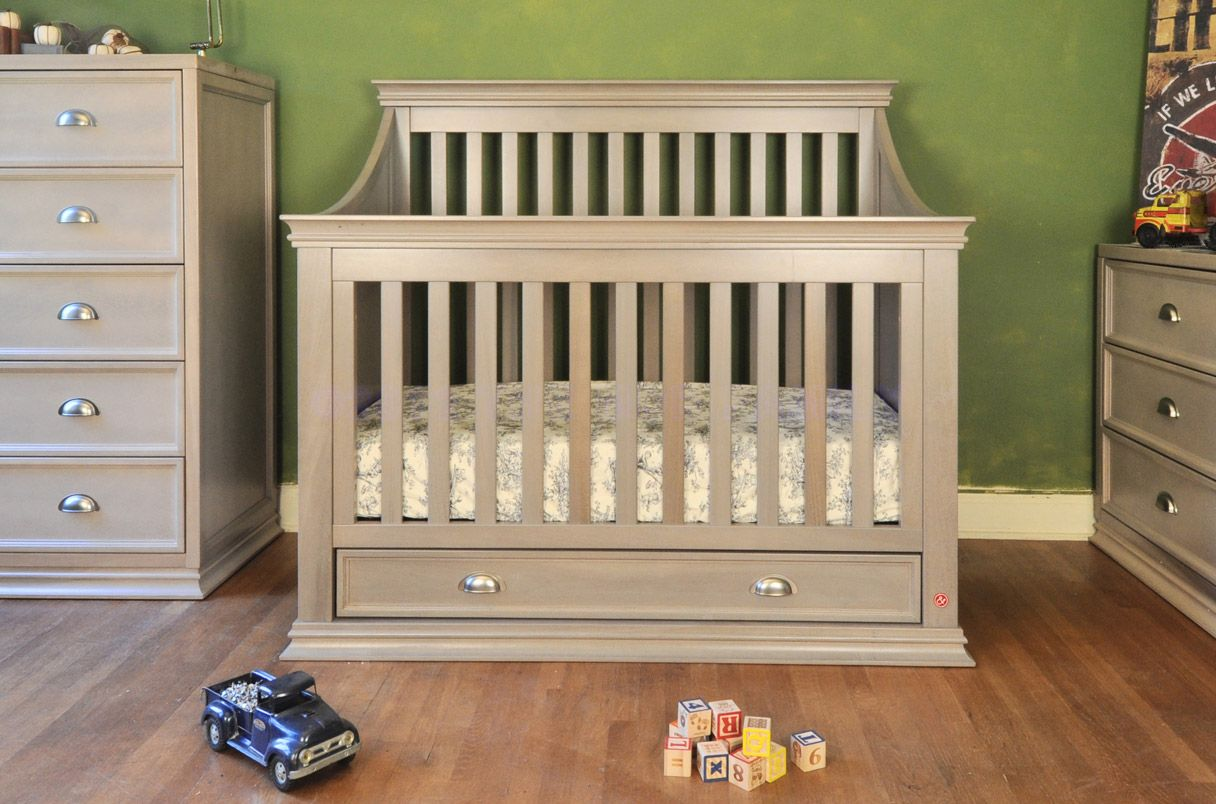 natural toxic non baby size barnwood bedroom cribs mattresses usa full oak wood made pine of unfinished in changing wooden solid crib finish table