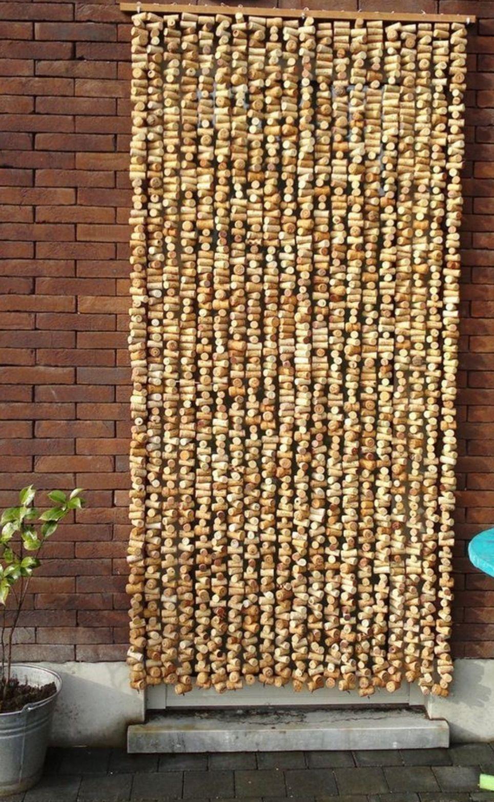 Wall Hanging Or Room Divider Wine Cork Diy Crafts Wine Cork Crafts Wine Cork Projects