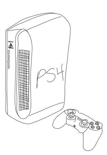 Este es el último diseño de #PS4 de nuestros usuarios
