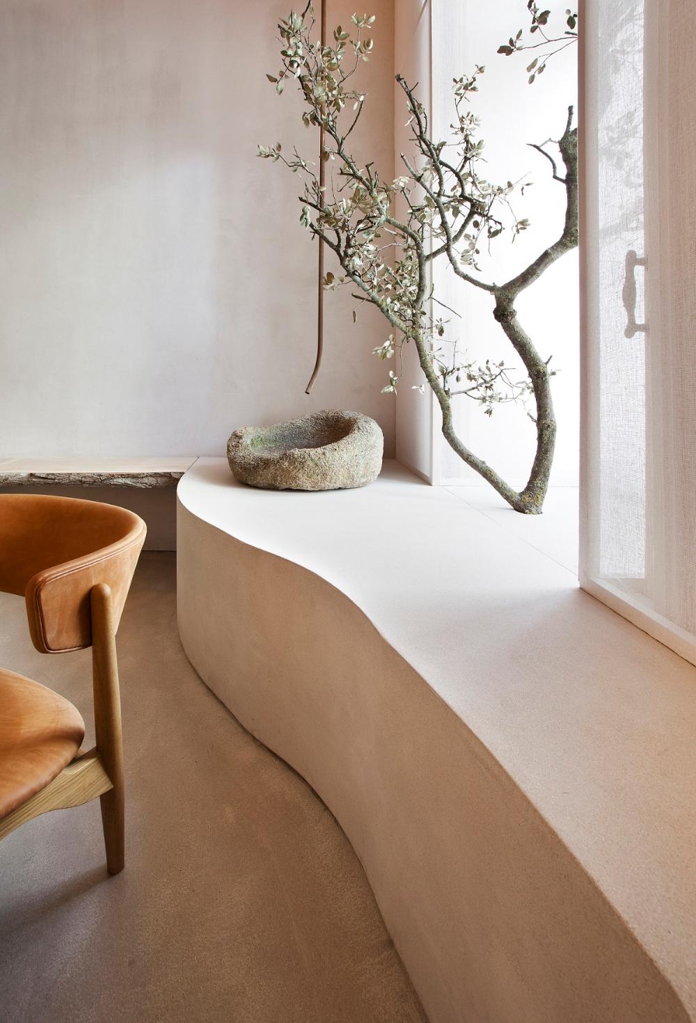 Wabi-Sabi Interior designed by Lorna de Santos – Design. / Visual.