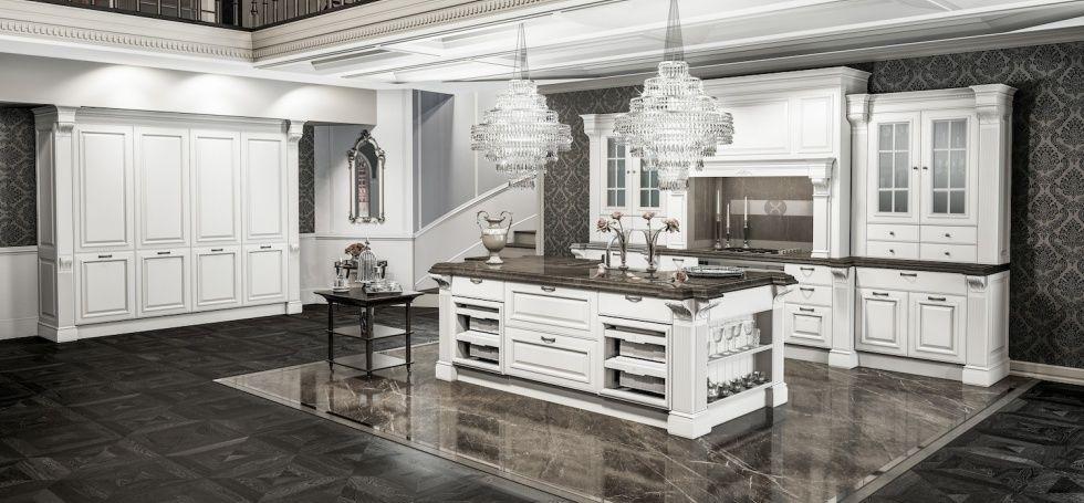 Grangala cucine classiche berloni kitchen and bath - Cucine classiche berloni ...