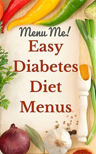 Easy to follow diabetes menus to help stay on track. #diabetesmenu