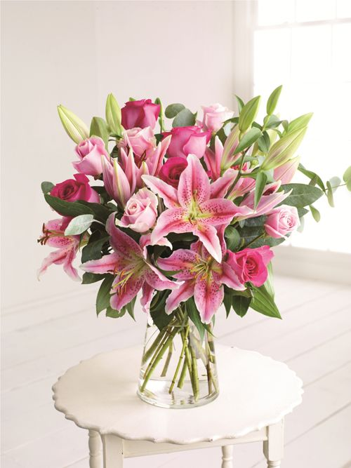 Rose And Lily Bouquet Marks Spencer BouquetBouquet FlowersBouquets Wedding