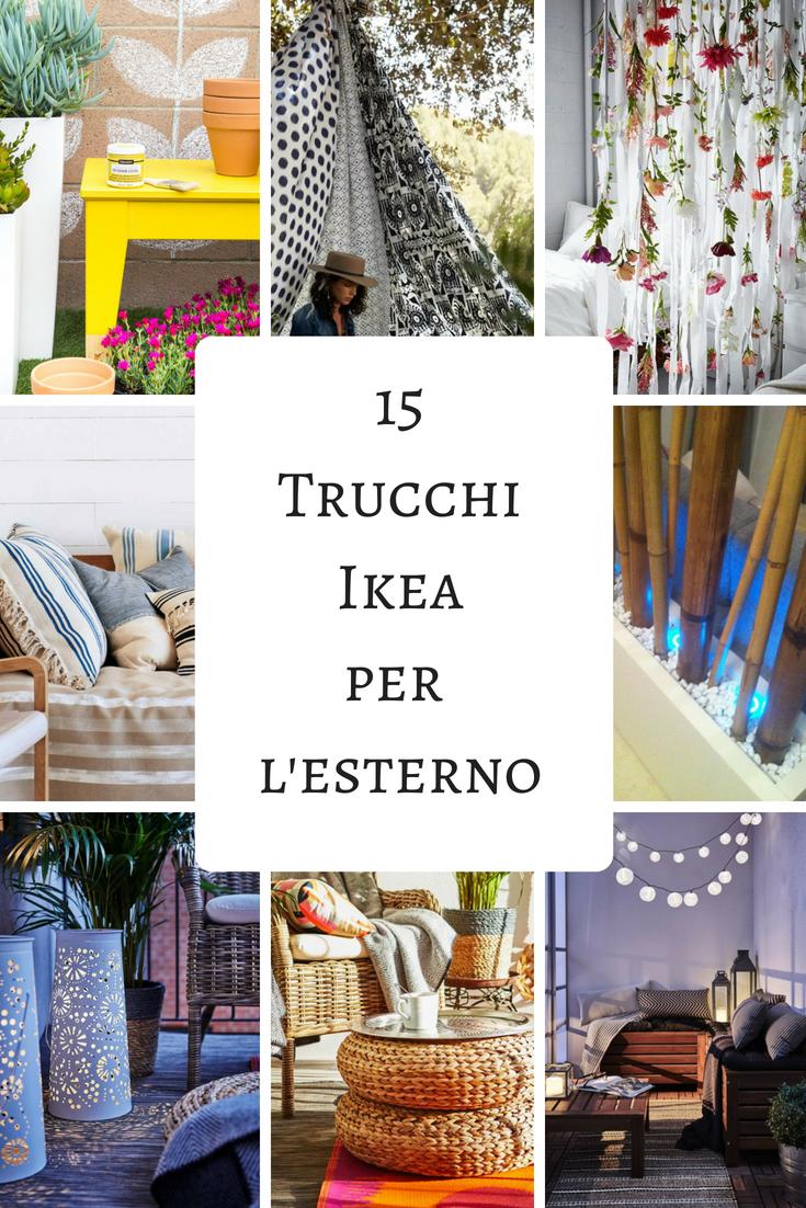Arredare Il Balcone Ikea trucchi ikea per i mobili da giardino (con immagini