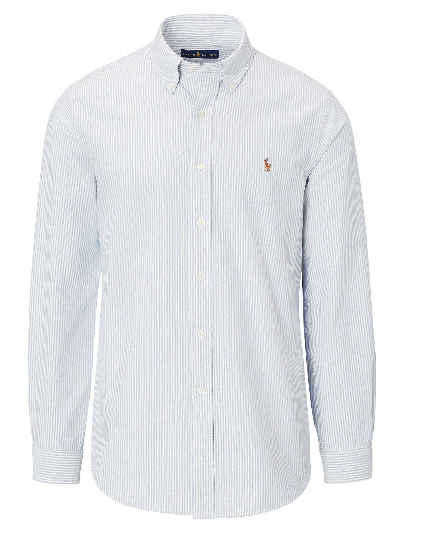 b2cb96d613b8 POLO RALPH LAUREN Striped Oxford Sport Shirt. #poloralphlauren #cloth #all