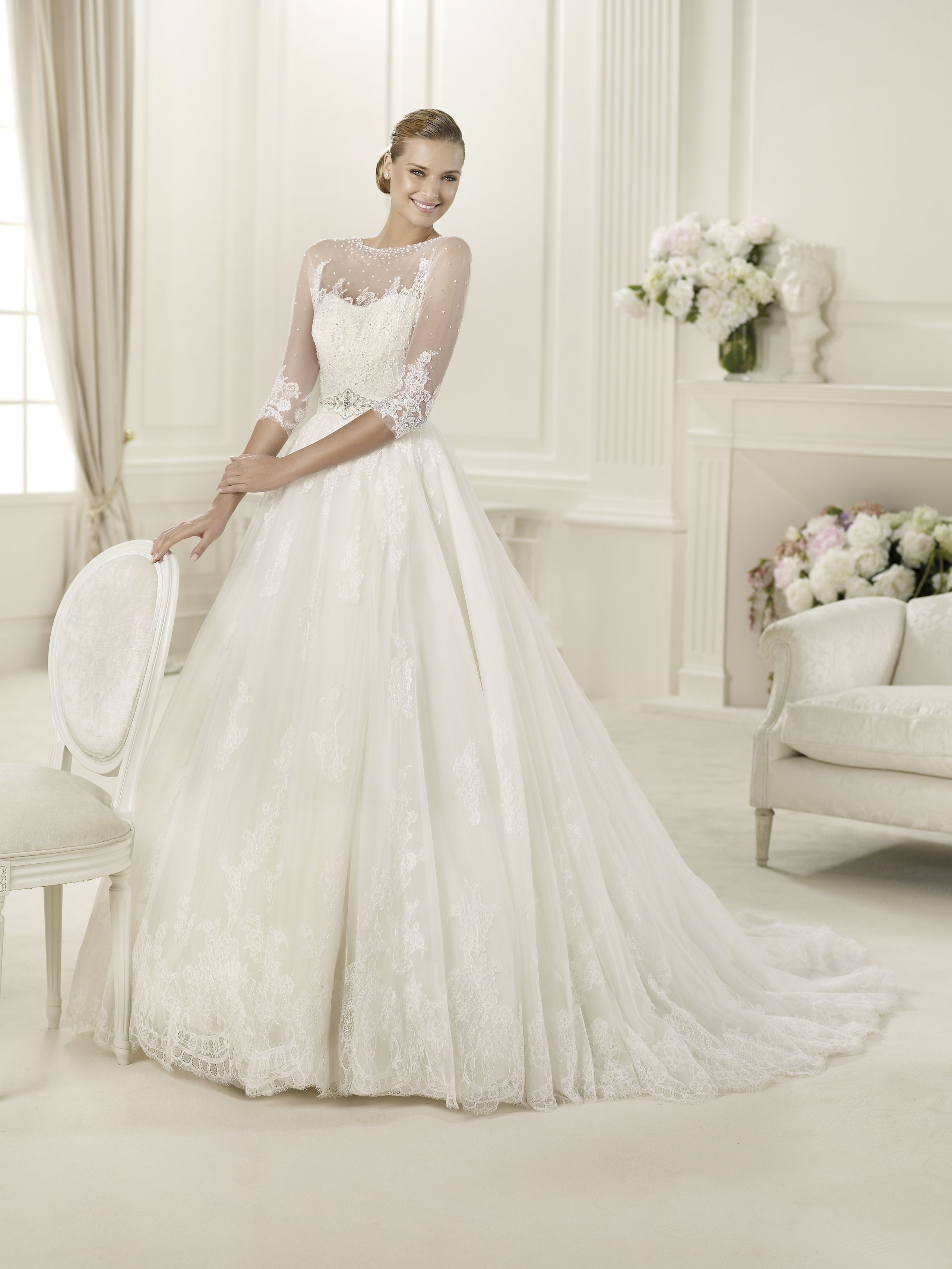 Dauco pronovias weddingdress bridalgown weddinggown pronovias dauco pronovias bridal gowns i am totally in love with everything in this dress ombrellifo Image collections