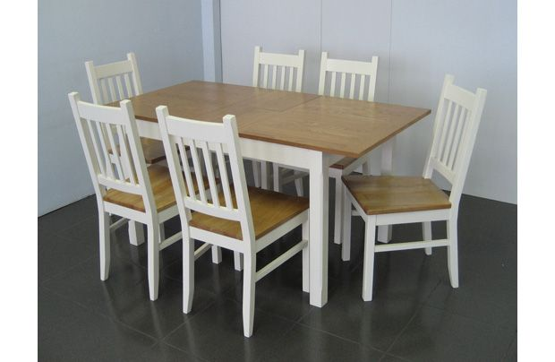 Room Homebase Chiltern Extending Dining Table 4 Chairs